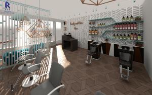 SALON 3 - beauty salon design in leicester
