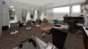 SALON 8 - beauty salon design in leicester