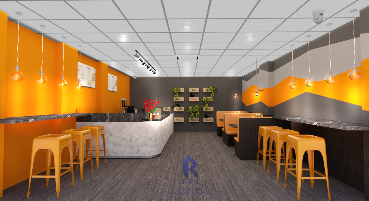 Cafe interior design leicester