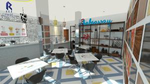 Shakeaway cafe interiors