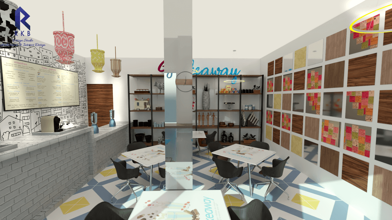 Shakeaway cafe interiors 5