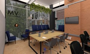 Office refurbishment Leicester - new