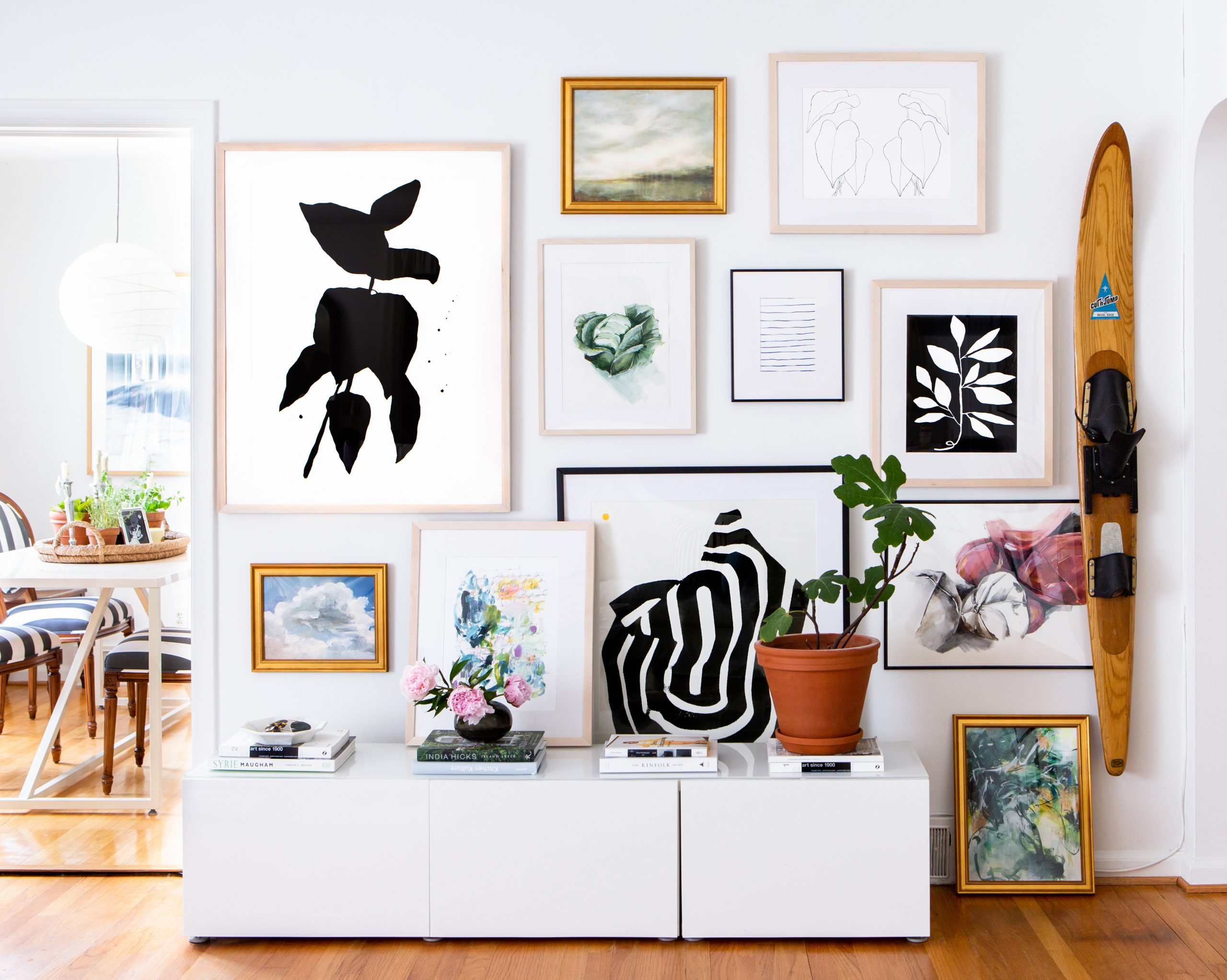gallery wall design