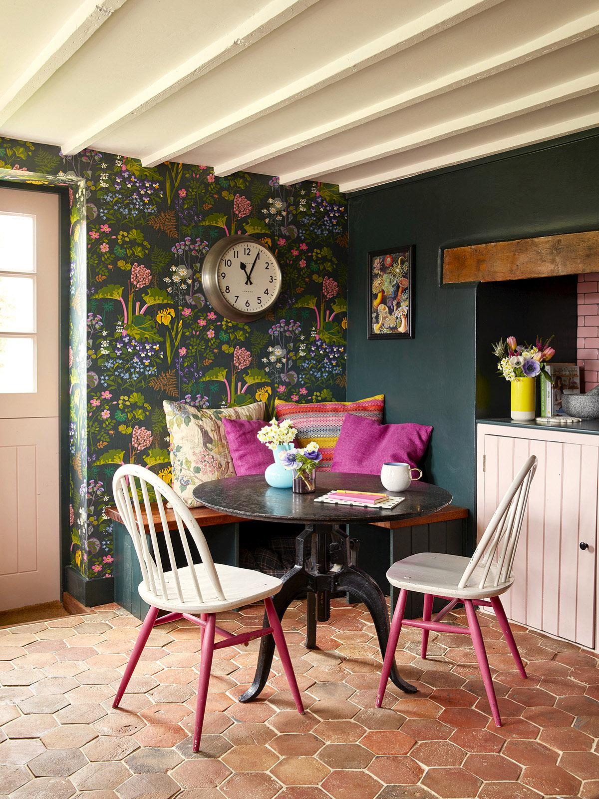 patterned kitchen design