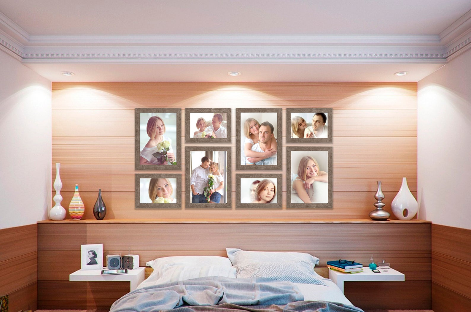 gallery wall layout style