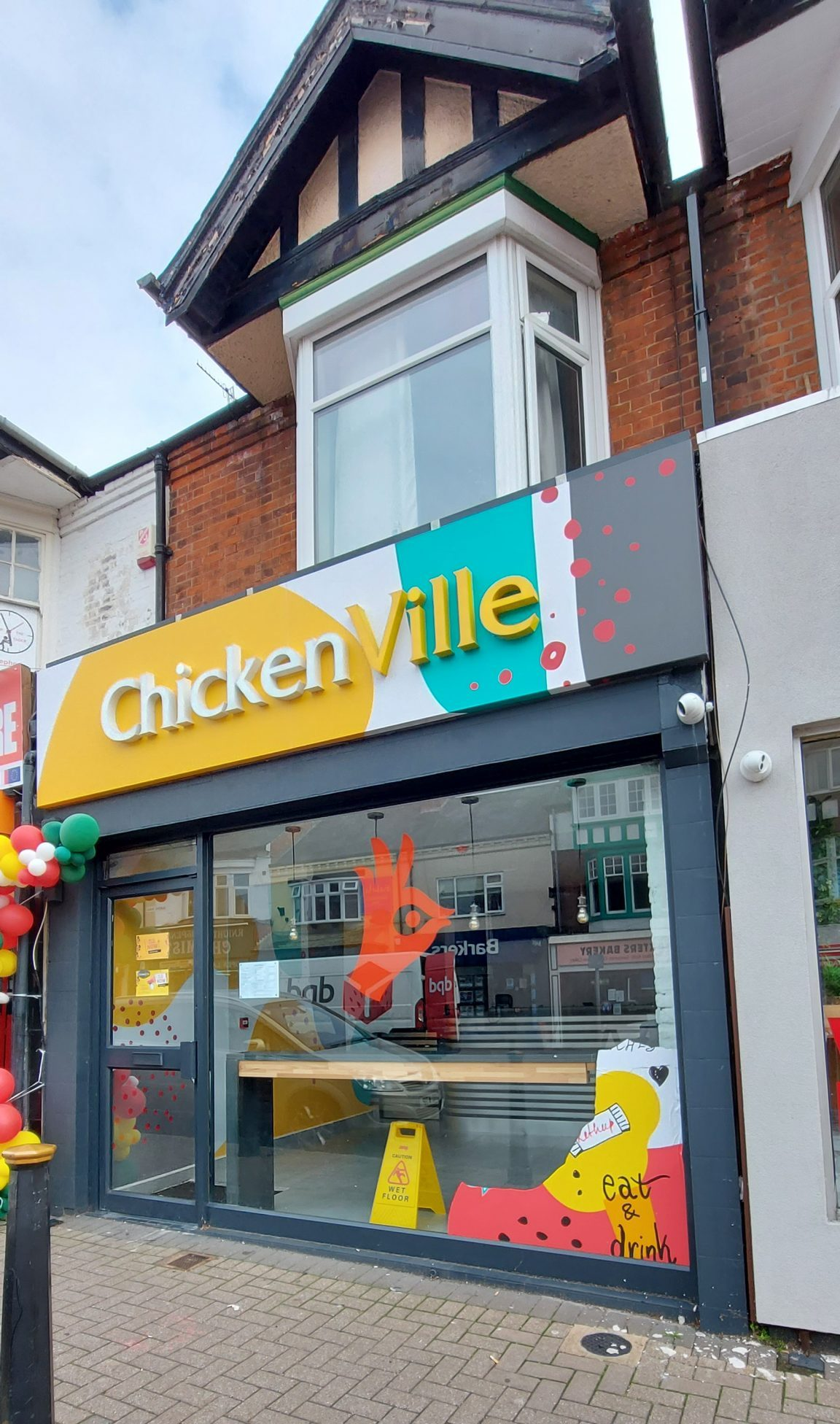 chickenville on 68, queens road leicester